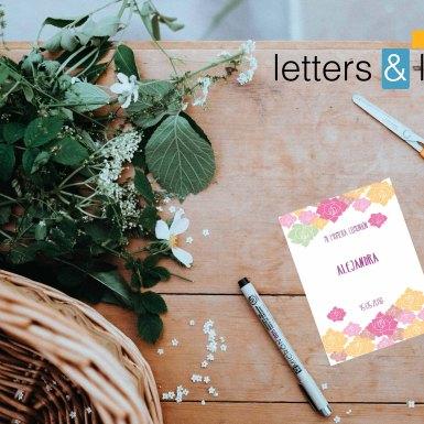Invitación Floral
